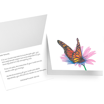 Anniversary of death card grief support services m4hsunfo